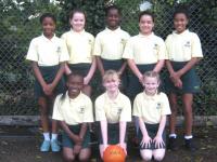 girls netball oct 18