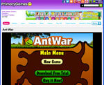 Primary Games - Ant War